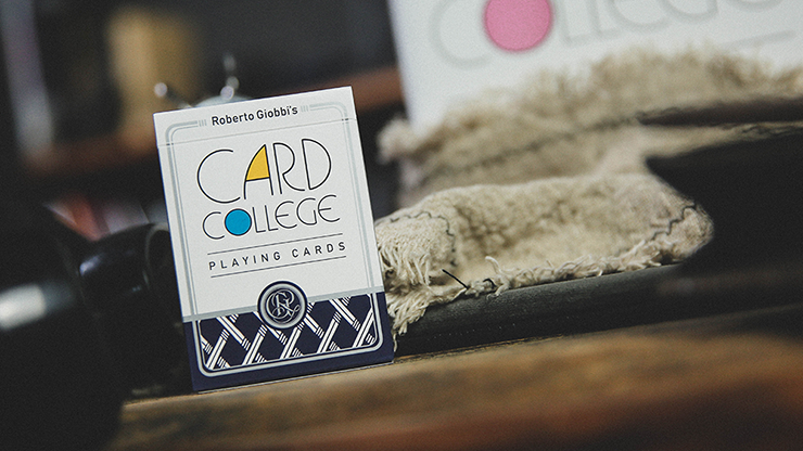 Card College (Blue) Playing Cards (6314792157333)