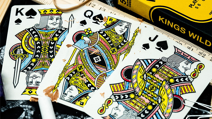 Back To School Playing Cards