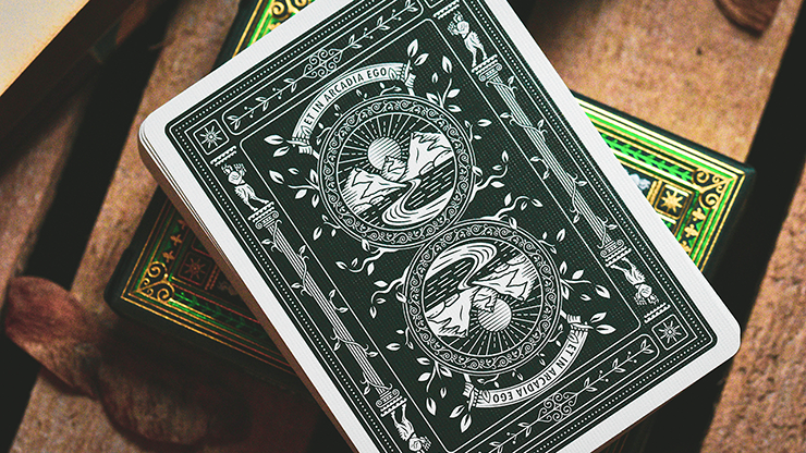 The Arcadia Signature Edition (Green) Playing Cards