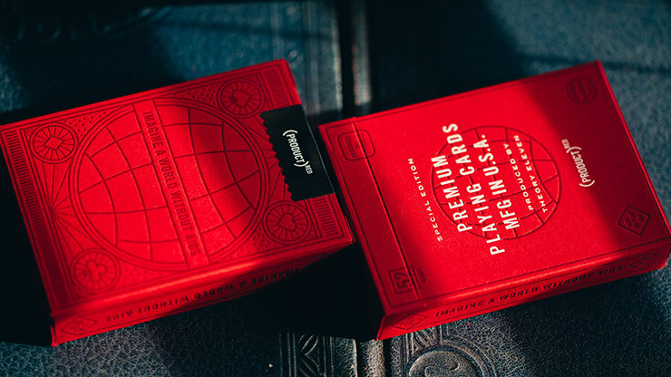 (PRODUCT) Red Special Edition Playing Cards