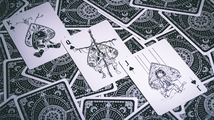 Silence Playing Cards (6440962588821)