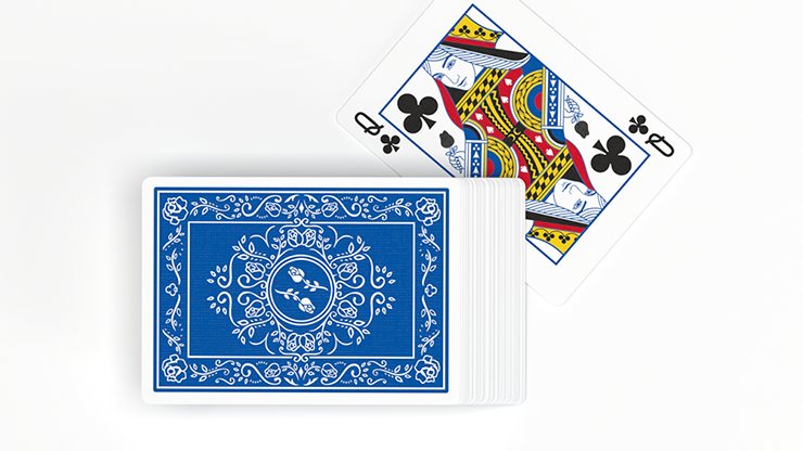 Black Roses Blue Magic Playing Cards (6515693420693)