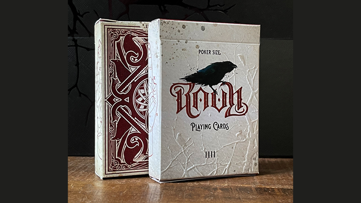 RAVN IIII (Red) Playing Cards Designed (6692311761045)