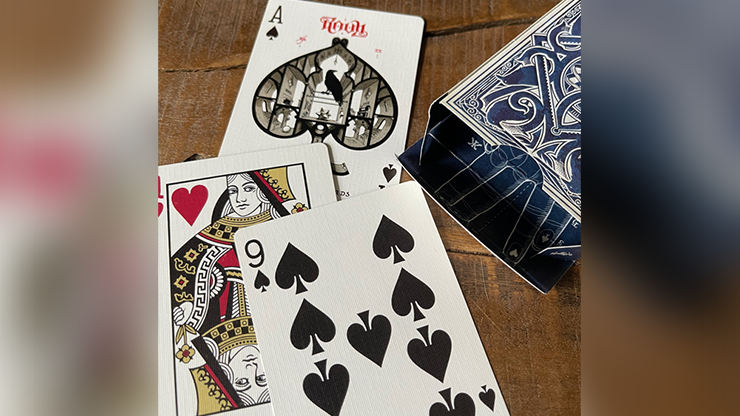 RAVN IIII (Blue) Playing Cards Designed (6692312285333)