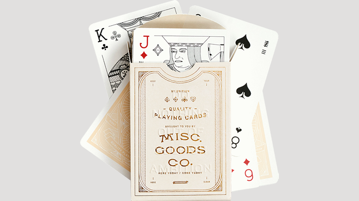 Ivory MGCO Playing Cards