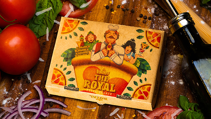 The Royal Pizza Palace Playing Cards Set (6750772756629)