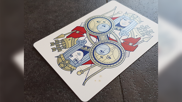 Pantheon Azure Playing Cards (6494331732117)