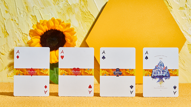 Van Gogh (Sunflowers Edition) Playing Cards