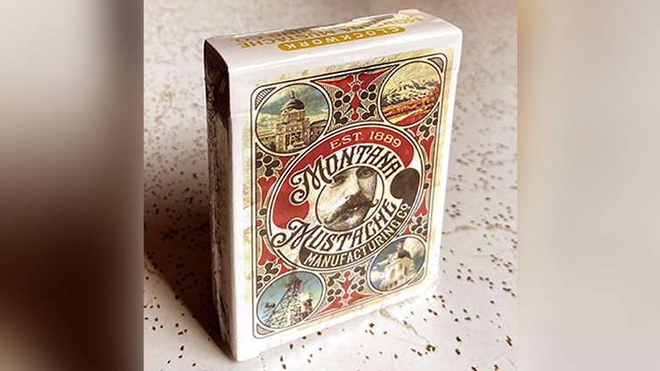 Clockwork: Montana Mustache Manufacturing Co. Playing Cards (6701604798613)