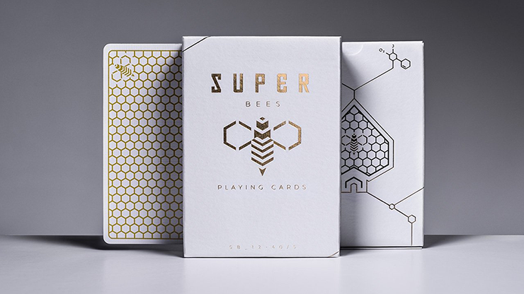 Super Bees Playing Cards (6660627038357)