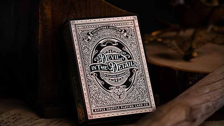 Devil's in the Details Rose Gold Playing Cards (6734784954517)