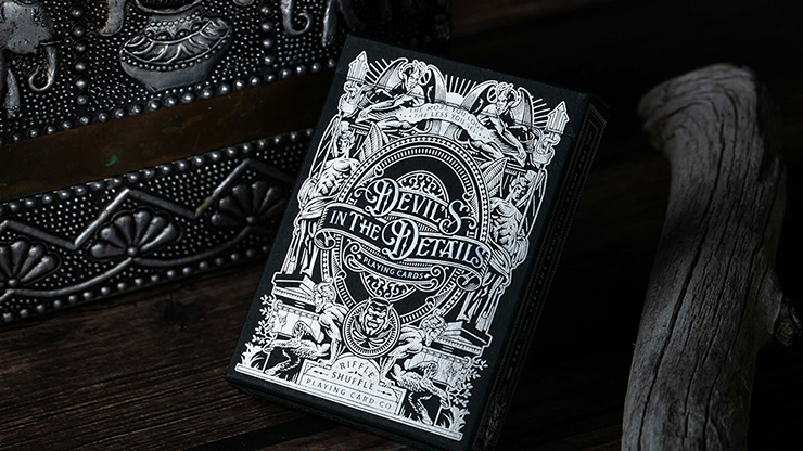 Devil's in the Details Sinful Silver Playing Cards (6734785806485)