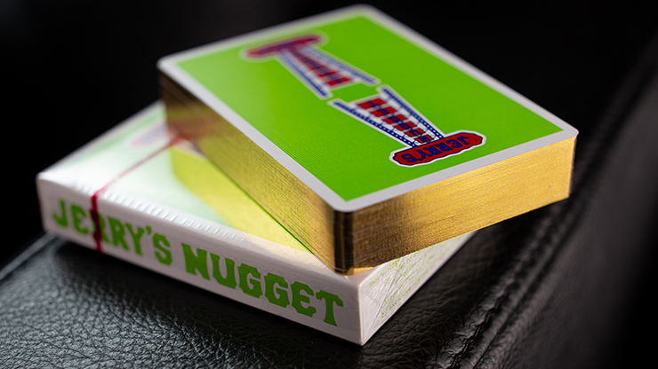 Jerry's Nuggets - Vintage Feel Green (Gilded)
