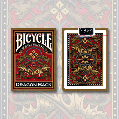 Bicycle Dragon Back - Gold