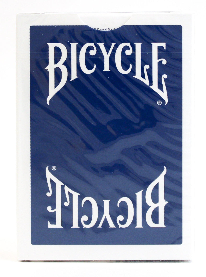 Bicycle Insignia Back Blue - BAM Playing Cards