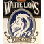 White Lions Series A Blue - BAM Playing Cards