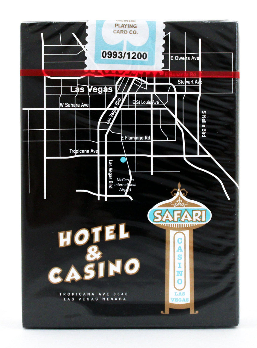 Safari Casino Black - BAM Playing Cards