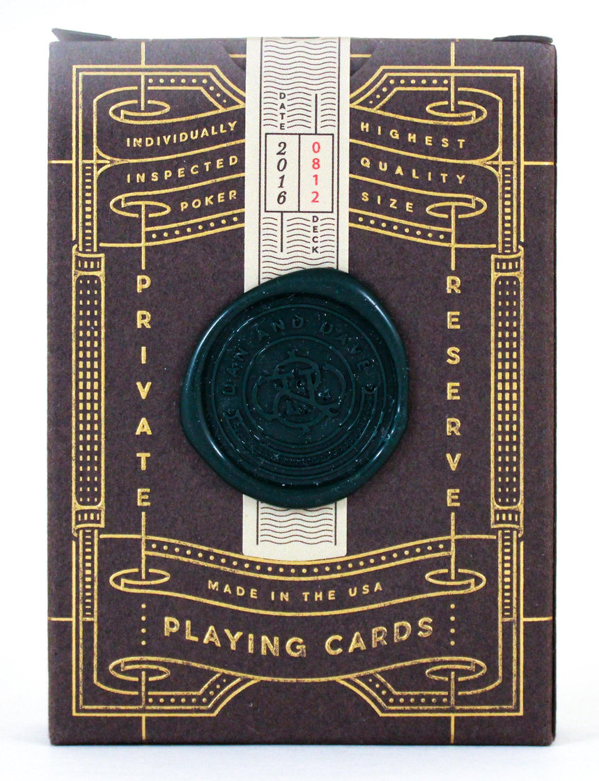 Dan & Dave Private Reserve #812 - BAM Playing Cards