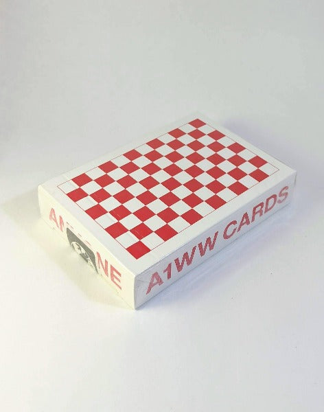 Anyone - Red Checkerboard - BAM Playing Cards