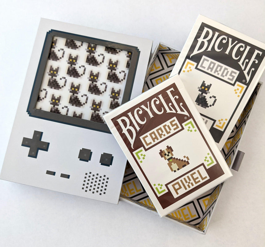 Bicycle Pixel V2 Collectors Set - BAM Playing Cards