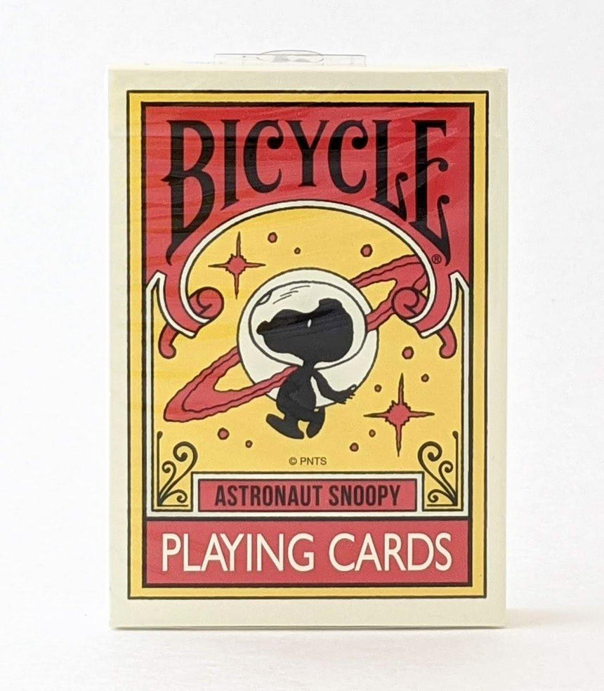 Bicycle Astronaut Snoopy - BAM Playing Cards