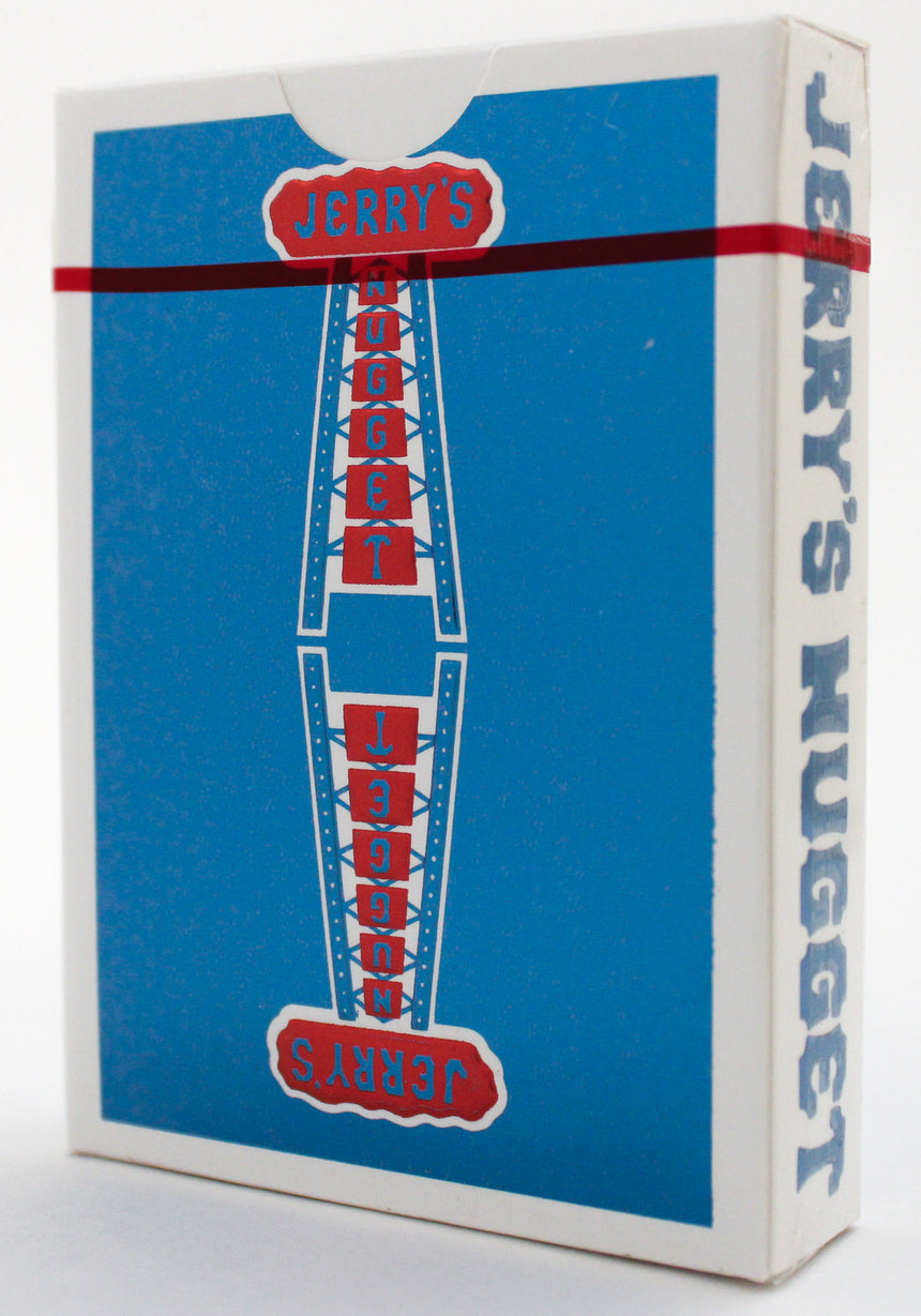 Jerry's Nuggets - Blue Foil Collector's Edition - BAM Playing Cards