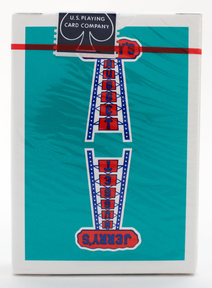 Jerry's Nuggets - Modern Feel Teal - BAM Playing Cards