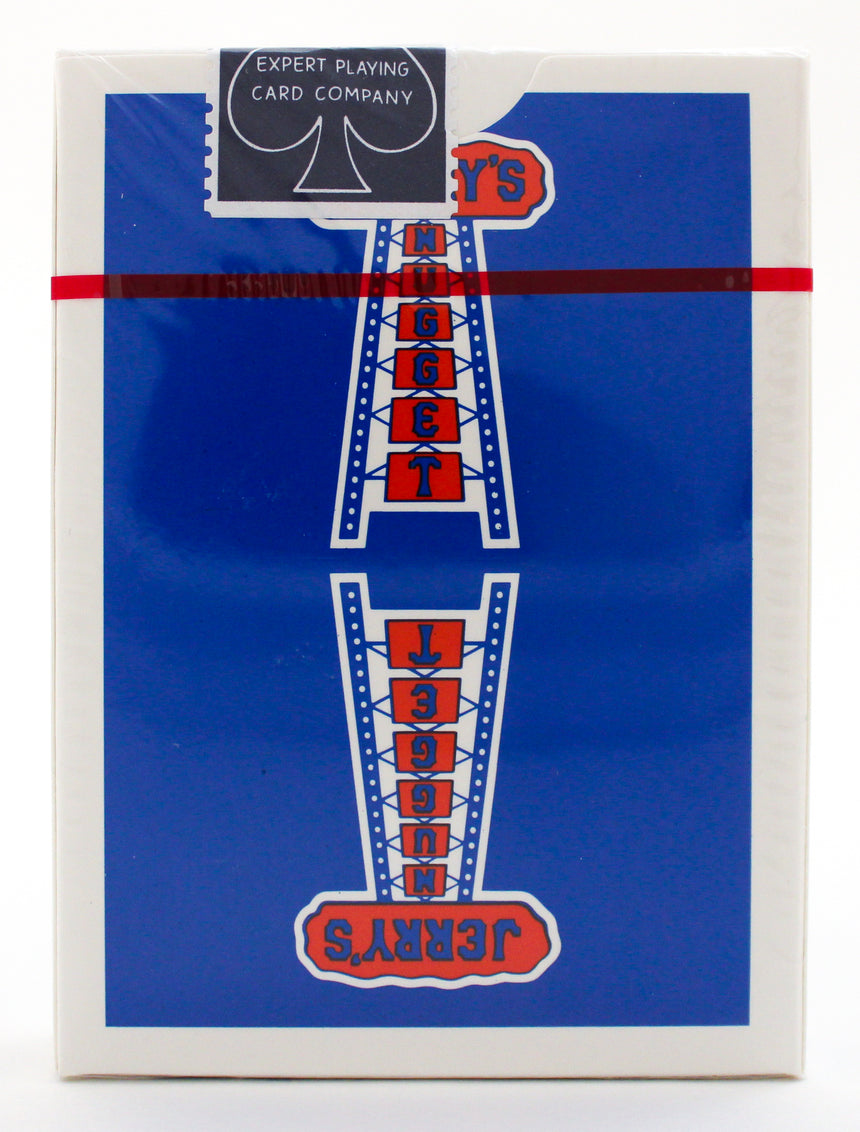 Jerry's Nuggets - Vintage Feel Blue - BAM Playing Cards