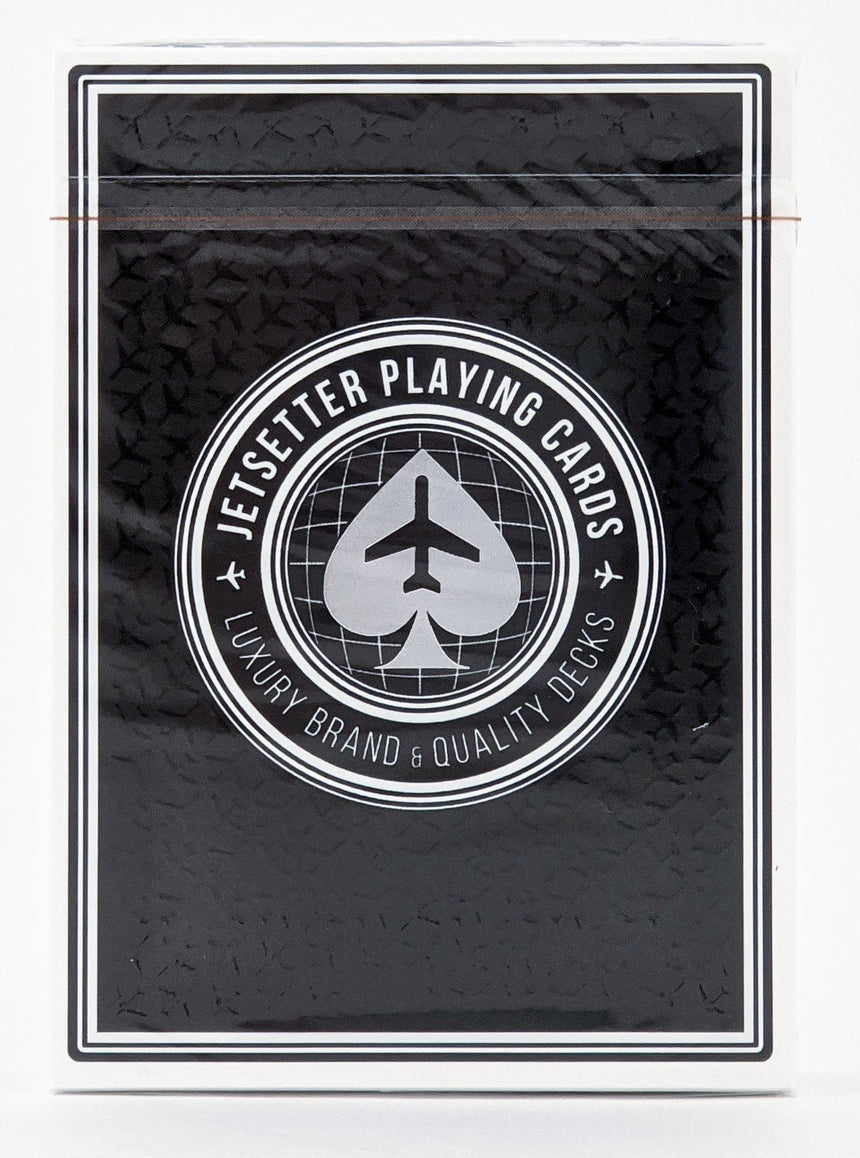 Jet Black (Private Reserve) - Jetsetter - BAM Playing Cards