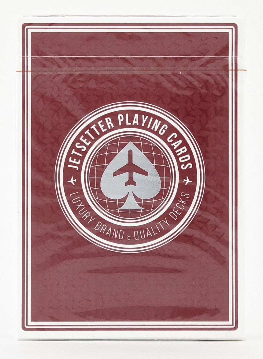 Premier Edition Red - Jetsetter - BAM Playing Cards