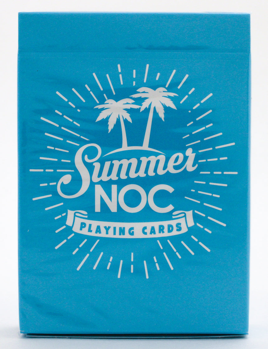 Summer NOC Blue - BAM Playing Cards (5591653679253)
