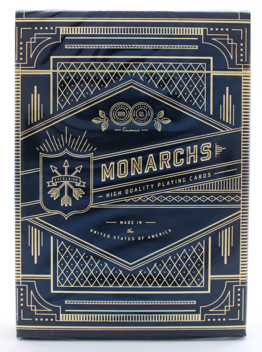 Navy Monarch - BAM Playing Cards
