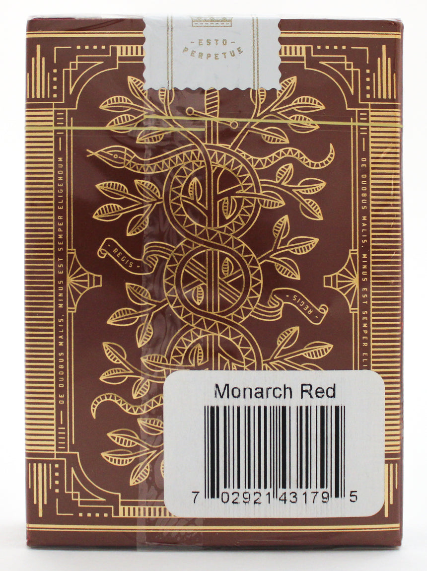 Red Monarch - BAM Playing Cards