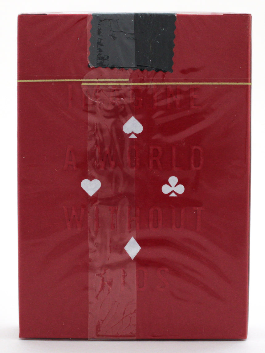 Product Red - BAM Playing Cards