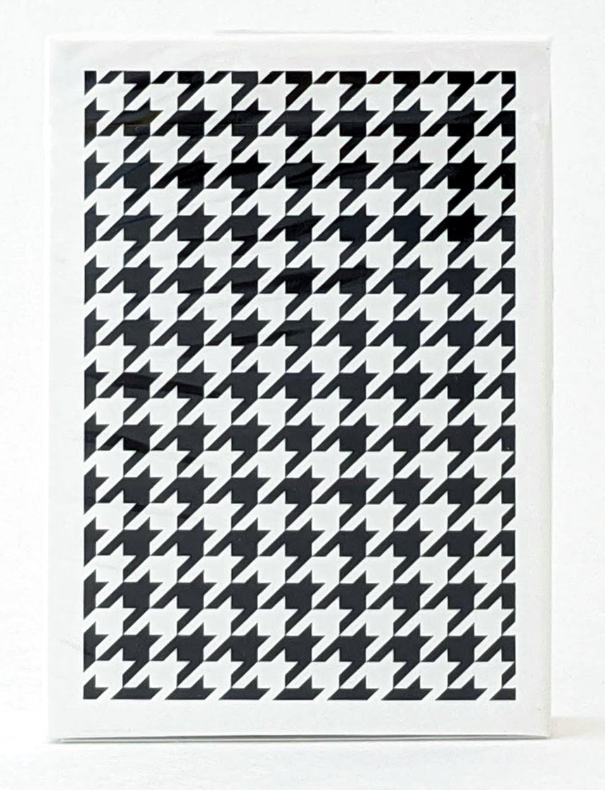 Anyone Black Houndstooth