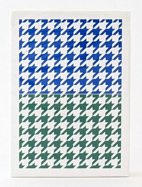 Anyone Split Houndstooth - BAM Playing Cards