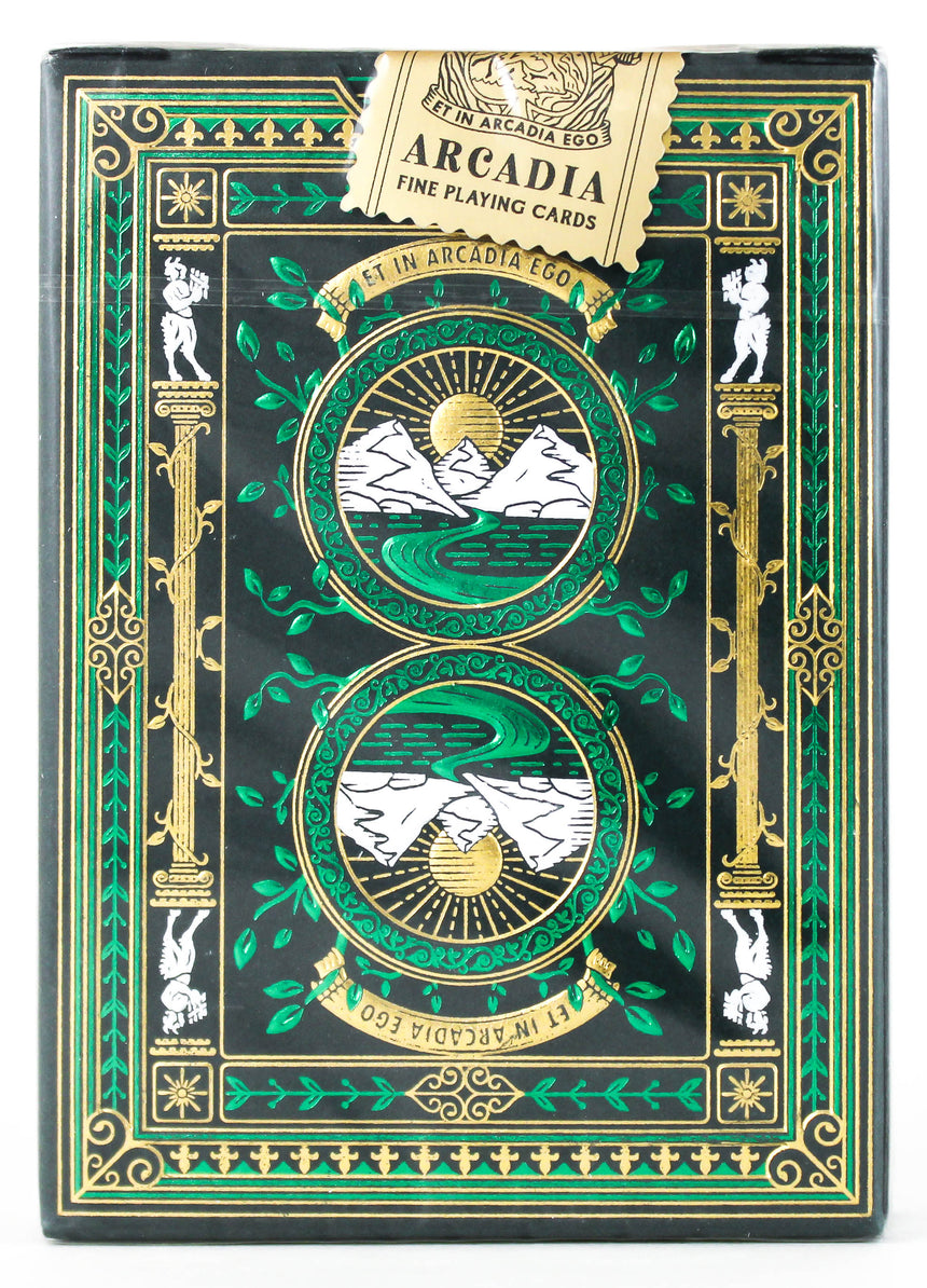 Arcadia Signature Edition Green - BAM Playing Cards