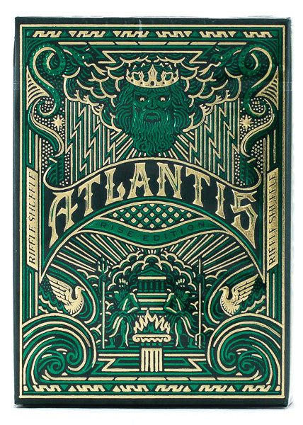 Atlantis Rise - BAM Playing Cards (6646273343637)