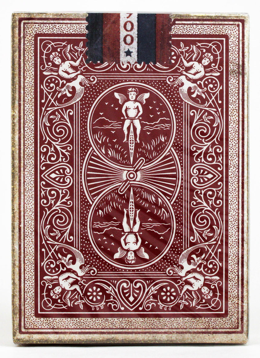 Bicycle 1900 Red - BAM Playing Cards