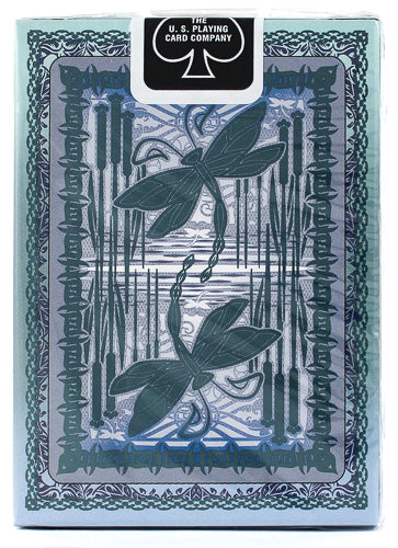 Bicycle Dragonfly (Teal) Playing Cards (6598489505941)