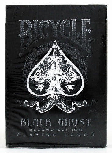 Bicycle Black Ghost 2nd Edition - BAM Playing Cards (6229166981269)