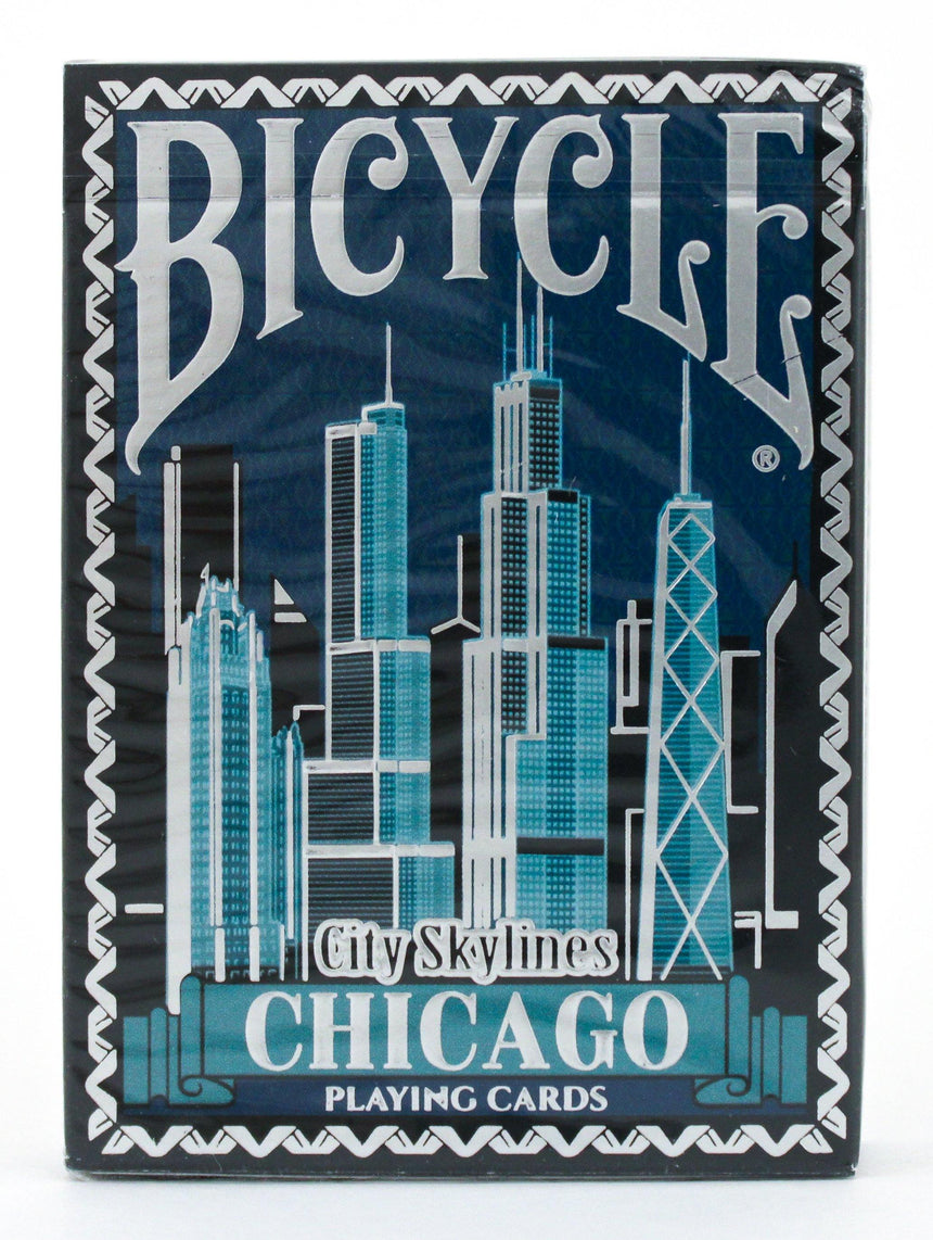 Bicycle City Skylines Chicago - BAM Playing Cards