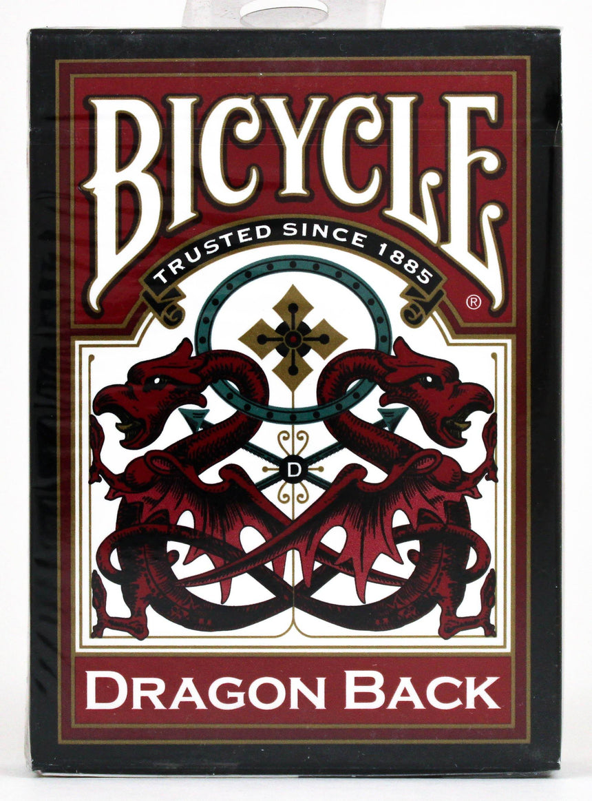 Bicycle Dragon Back Red - BAM Playing Cards (6150217367701)