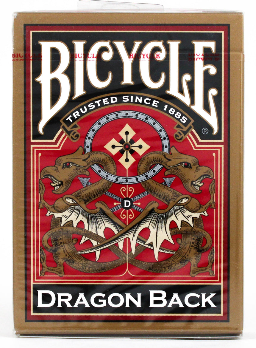 Bicycle Dragon Back Gold - BAM Playing Cards