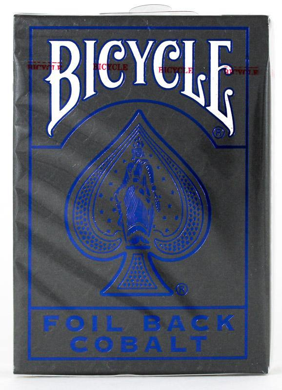 Bicycle Rider Back Cobalt Luxe V2 - BAM Playing Cards (6410905092245)