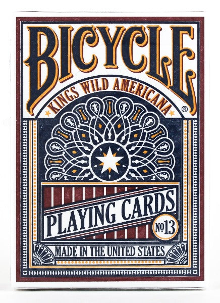 Kings Wild Bicycle Americana - BAM Playing Cards