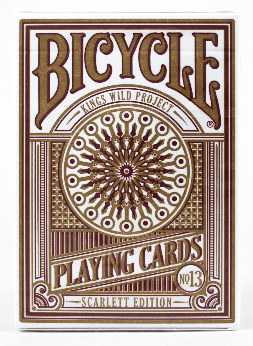 Bicycle Scarlett Kings Wild - BAM Playing Cards (5881803374741)