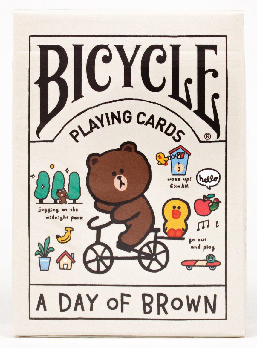 Bicycle x Line Friends A Day of Brown - BAM Playing Cards