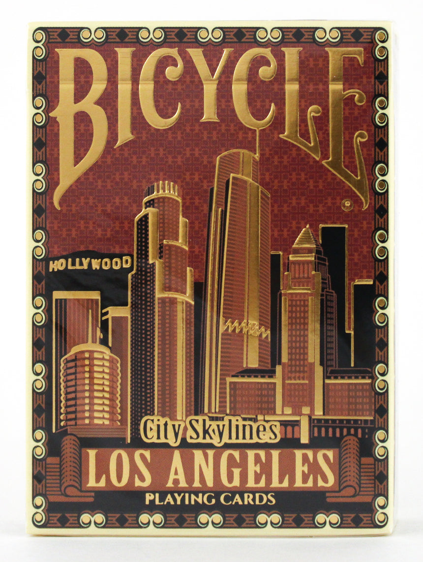 Bicycle City Skylines Los Angeles - BAM Playing Cards