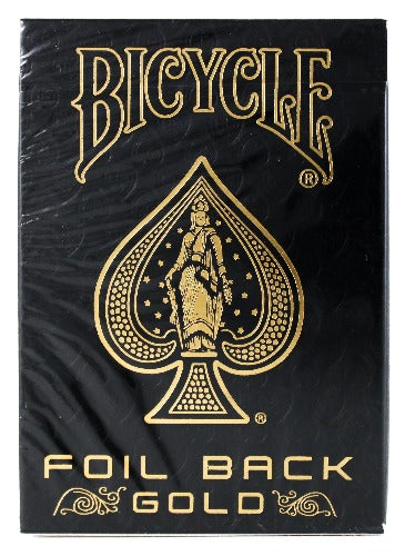 Bicycle MetalLuxe Gold - BAM Playing Cards